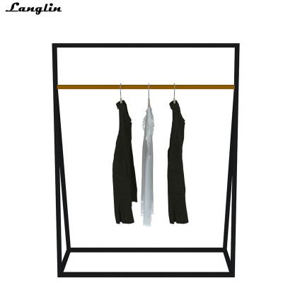 Stainless steel custom clothing display cabine