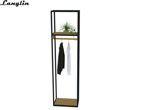 2018 Exquisite Stainless steel  shelf for clothing display