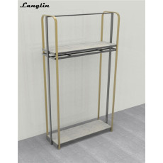 High End customized display racks for clothing for garment retail store