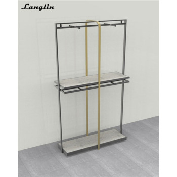 Hot selling stainless steel garment racks  for boutique clothing store