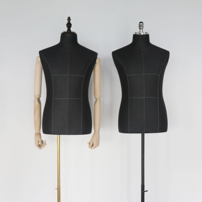 Customized independent design half-length clothing show FRP mannequin