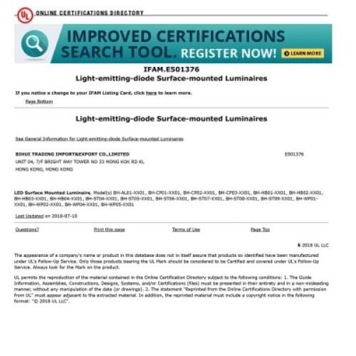 Certificação UL