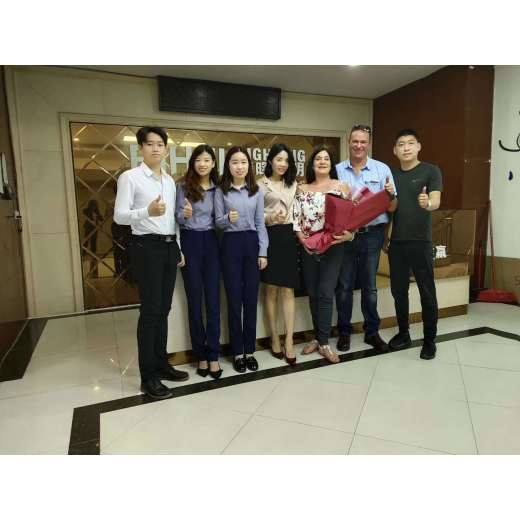 BIHUI warmly welcomes South African guests to visit the company