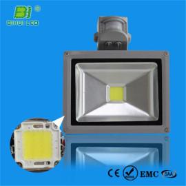 Reflector led miniatura de 30w con sensor de movimiento IP65 impermeable en interiores y exteriores