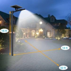 O novo modelo de 30w de lâmpadas solares LED de alta qualidade para iluminação exterior