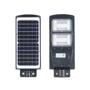 Lámparas solares de calle 20W 40W 60W lámparas solares de jardín con reflectores led solares