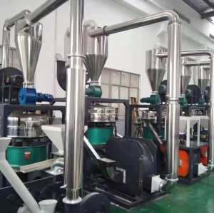 Waste PVC Powder Plastic Miller / Plastic pulverizer /Grinder Machine