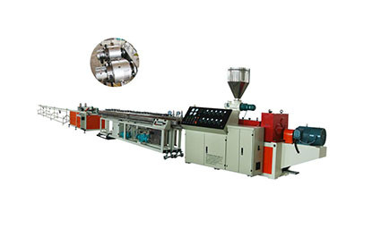 PVC two pipe production line