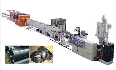 large diameter hdpe/pe pipe extrusion lines,pipe making machine