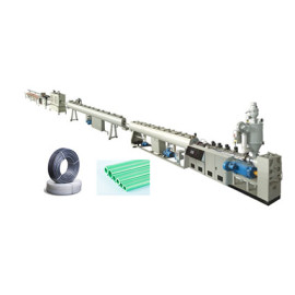 PPR/PERT High Speed Pipe Extrusion Line