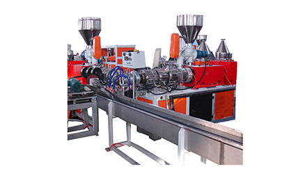 pvc螺旋管生产线/螺旋塑筋管生产线/螺旋加筋管生产线