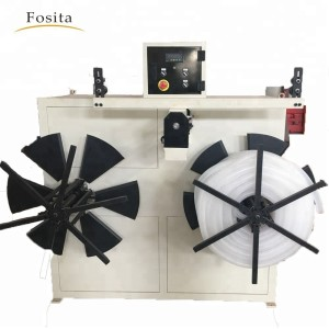 Fosita Automatic Plastic Pipe Tube Winder Station Coiler