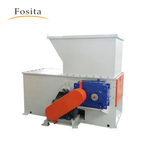 Plastic Shredder Machine For Waste Pipe Woven Bags