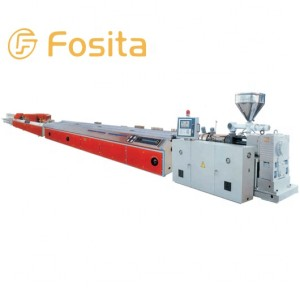 Fosita PVC Profile and WPC Wood-Plastic Extrusion Line