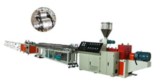 PVC Double-Pipe Making Machine Production Line