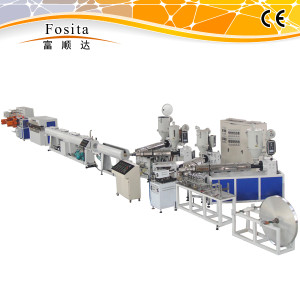 Overlap Welding Plastic-Aluminium-Plastic Compound Pipe Production Line