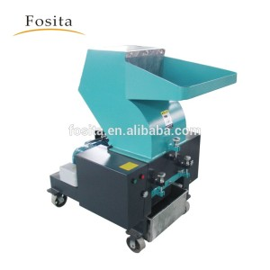 Fosita Plastic Crusher Machine Grinding Plastic Pipe Bottle Lumps Films