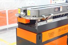 PVC PP PE single wall corrugated pipe extrusion machine