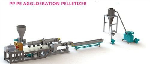 PE/PA/PP Double Rank Recycling and Pelletizing Machine