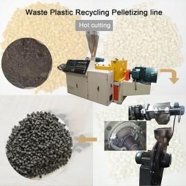 PVC pelletizing machine for making granules Manufacturer Fosita Company