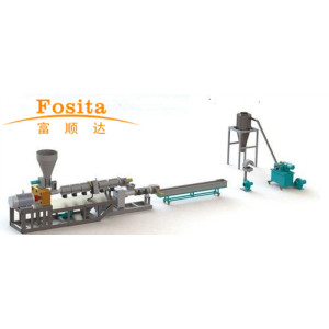 Double Stage Recycling and Pelletizing Machine