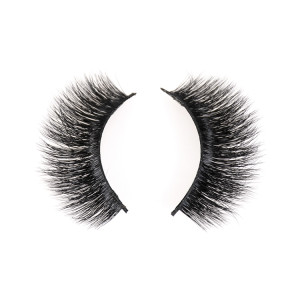 custom strip lashes black own brand eyelashes box cruelty free real 3d mink eyelashes