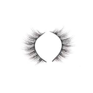 3D individual faux mink lashes custom eyelash magnetic box