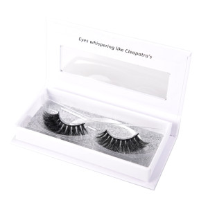Own Brand 3d handmade Private Label Mink Eyelashes Custom Eyelash Packaging