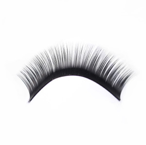 Private label individual L CC DD curl silk premium faux mink eyelash extensions