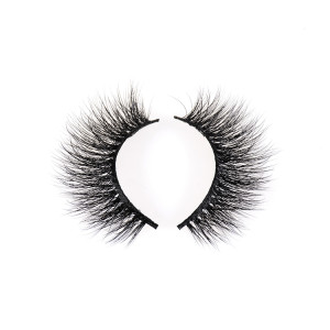 Hand-made Dramatic Thick Crisscross Deluxe False Lashes Black Nature Fluffy Long Soft Reusable