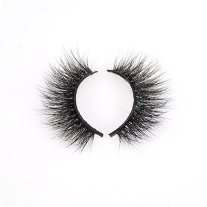 Wispies Fake Eyelashes Handmade Natural Cross False lashes Volume and Reusable