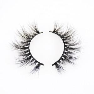 Reusable 3D Mink Eyelashes False Eyelashes Dramatic Look and Feel 100% Handmade & Cruelty-Free