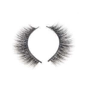 False Eyelashes 3D Silk Natural Lashes Long Thick Reusable for Makeup