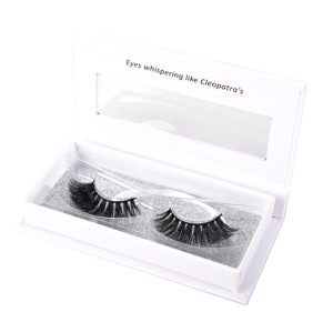 3D Wispy 100% Hand-made Reusable Luxury Silk Crisscross Thick Charming and Elegant False Eyelashes