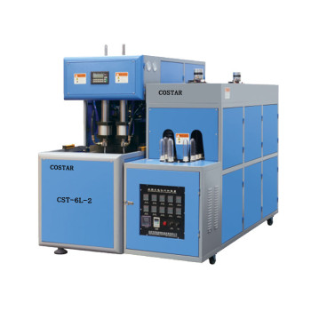 Semi automatic pet bottle Blow Molding Machine for pet preform 6l-2
