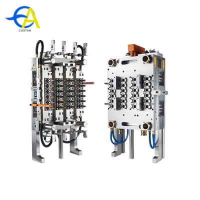 Chinese plastic injection mold 48 cavities pet preform mold