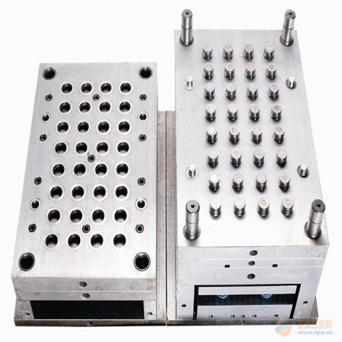 Hot selling plastic cosmetic tube flip top cap precision 48 cavities injection mould miniatures