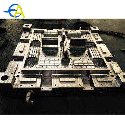 Best price heavy duty injection mold industrial plastic pallets mold