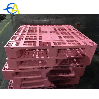 Good quality hygienic injection molded plastic pallets mold for food industry