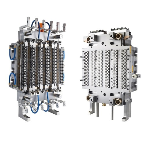 High quality 330ML, 500ML, 600ML, 750ML multi cavities pet water bottle preform injection mold