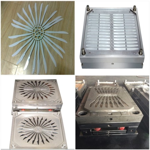 Multiple-cavity disposable knife fork plastic injection mold