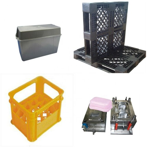 Custom injection plastic cell box mold