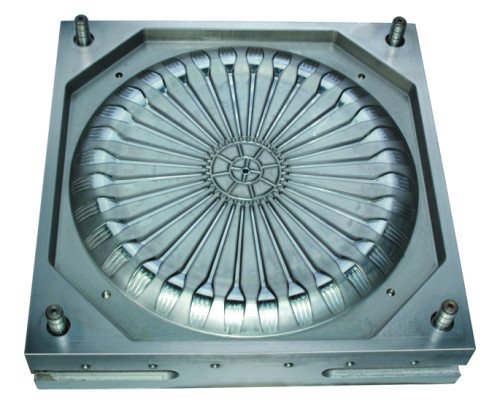High quality plastic molding machine injection fork mold