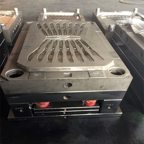 Plastic disposable spoon making machine injection molding machine