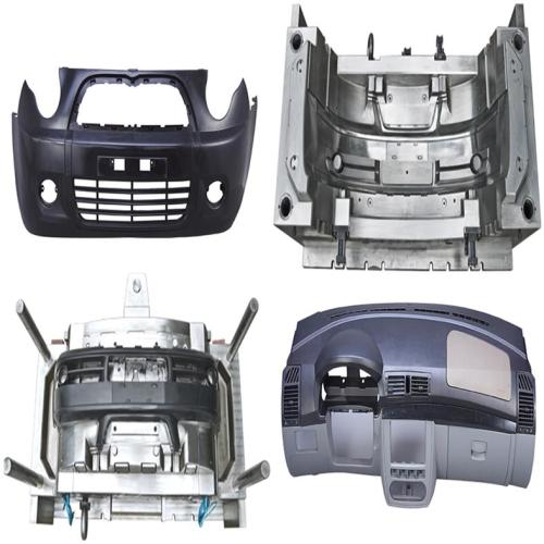 Factory Supply Plastic Injection Auto Bumper Mold