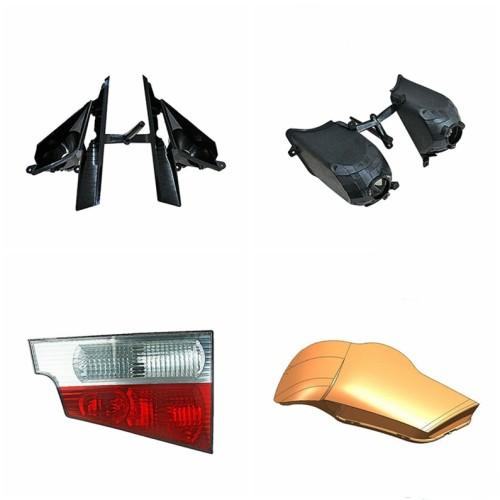 Auto car body parts injection mold 3D auto lamp molding parts injection mold