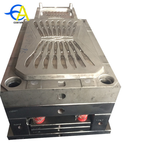 China supplier mold injection plastic molding machine spoon knife mold