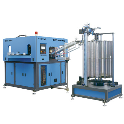 Fully automatic 5l high speed pet bottle blowing machine