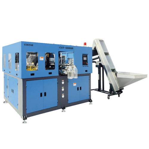 Drinking Water Bottle Blowing Machine Semi-automatic PET Blowing Machine for Sale