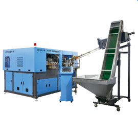 China best price servo motor PET plastic bottle blowing mould machine
